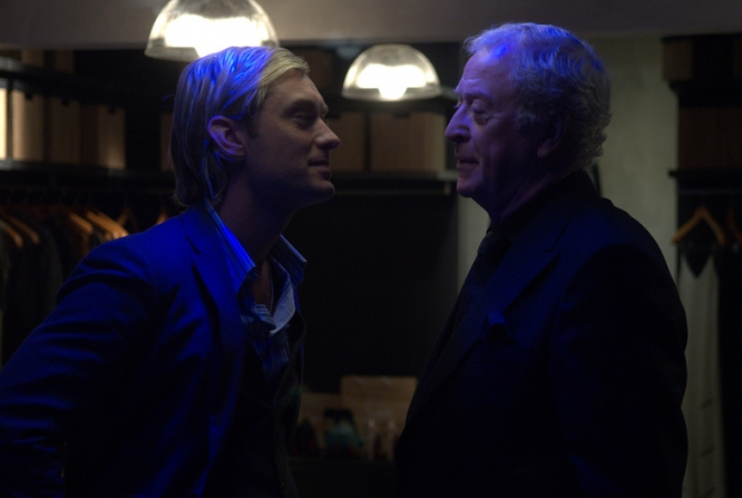 Jude Law, Michael Caine