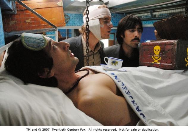 Adrien Brody, Jason Schwartzman, Owen Wilson