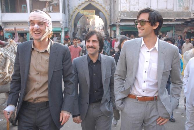 Jason Schwartzman, Owen Wilson, Adrien Brody