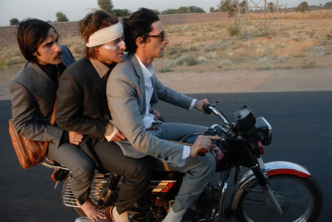 Owen Wilson, Jason Schwartzman, Adrien Brody