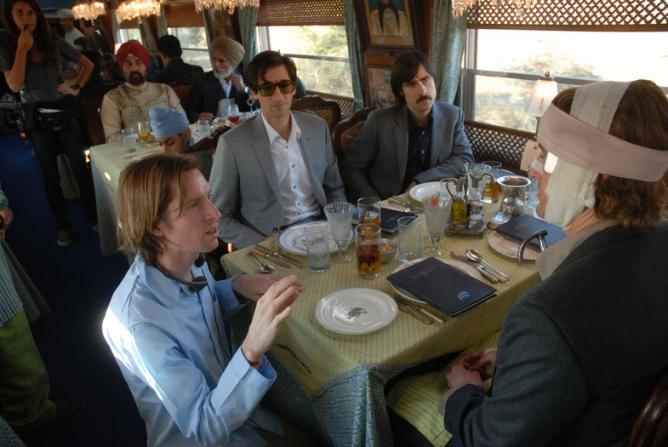 Wes Anderson, Adrien Brody, Owen Wilson, Jason Schwartzman