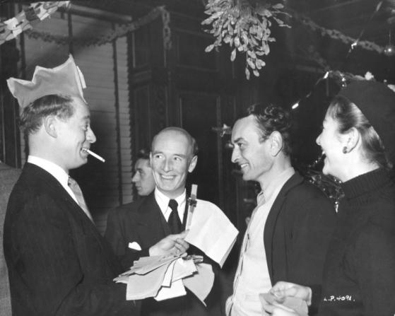 David Lean, Jimmy Hanley, Anouk Aimée