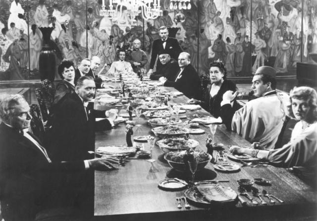 Ona Munson, Walter Huston, Victor Mature