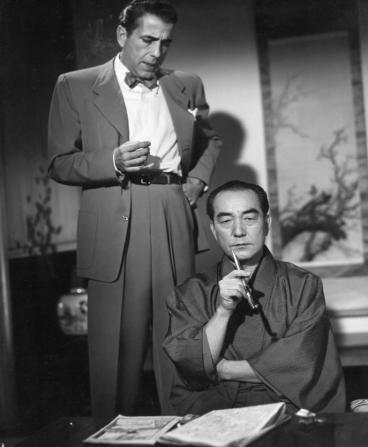 Sessue Hayakawa, Humphrey Bogart
