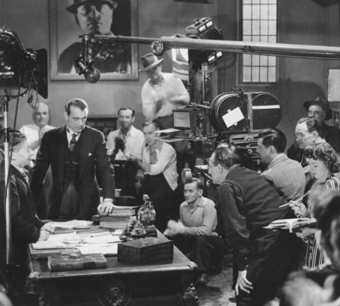 Gary Cooper, Fritz Lang, Wladimir Sokoloff