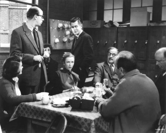 Glenn Ford, Maggie Hayes, Richard Deacon, Dorothy Neumann, Louis Calhern, David Alpert