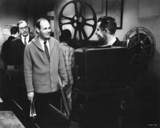 Louis Calhern, Glenn Ford, David Alpert