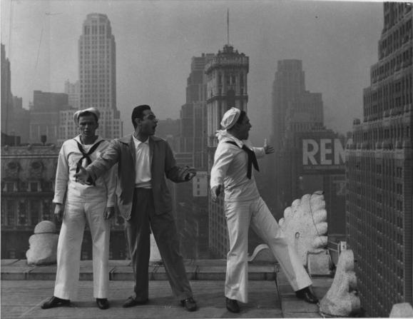 Frank Sinatra, Stanley Donen, Gene Kelly
