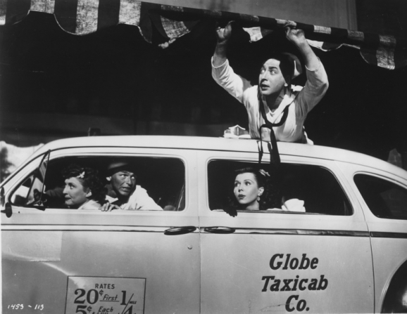 Frank Sinatra, Ann Miller