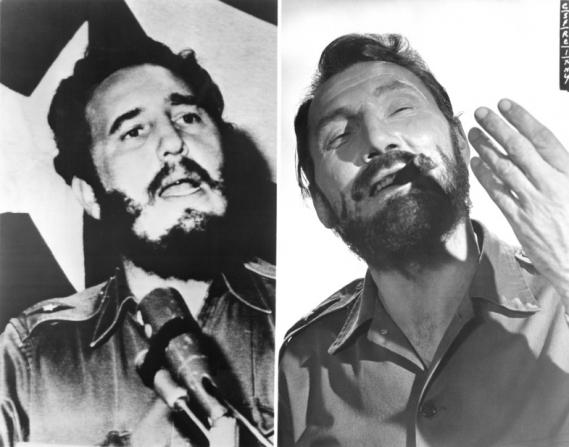 Fidel Castro, Jack Palance
