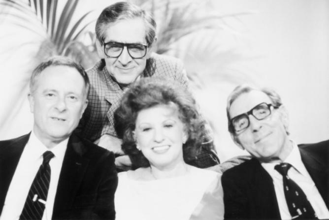 Denis Norden, Pat Phoenix, Eric Sykes, Alec McCowen