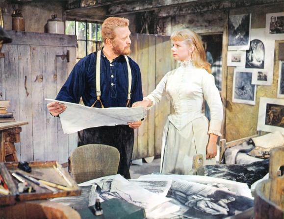 Kirk Douglas, Jill Bennett
