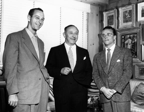 Arthur Freed, Gérard Myriam Benhamou, Alan Jay Lerner