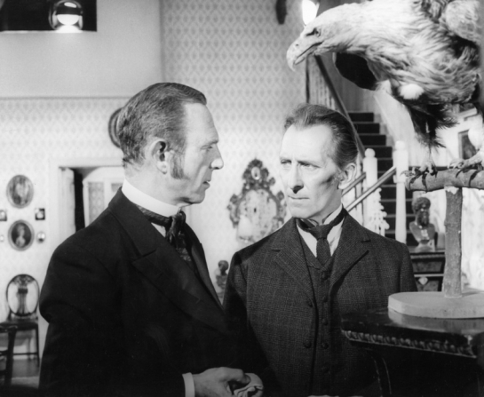 Robert Flemyng, Peter Cushing