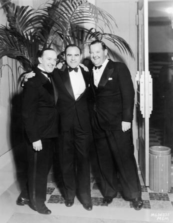 Stan Laurel, Oliver Hardy, Hal Roach