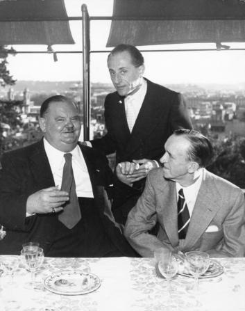 Stan Laurel, Oliver Hardy, Salvo D'angelo