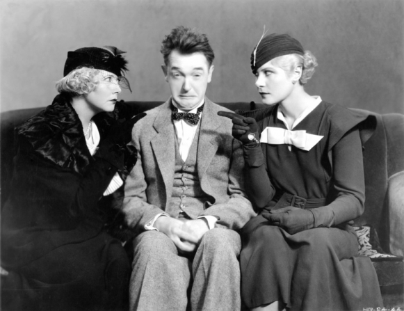 Stan Laurel, Mae Busch, Dorothy Christie