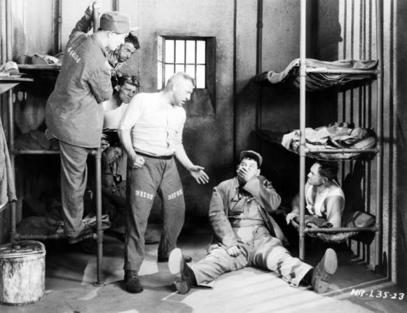 Stan Laurel, Oliver Hardy, Walter Long