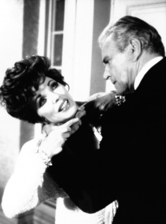 John Forsythe, Joan Collins