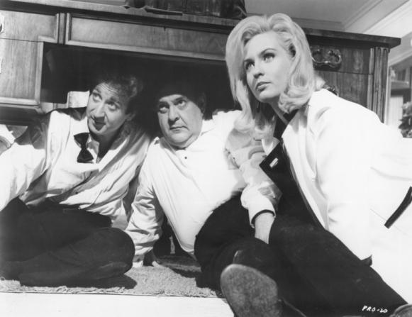 Gene Wilder, Zero Mostel, Lee Meredith