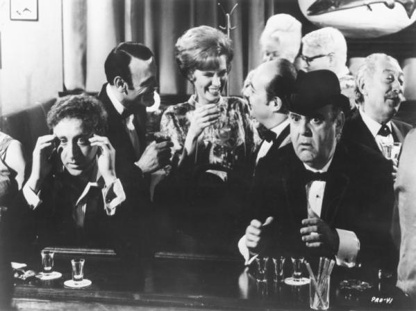Gene Wilder, Zero Mostel