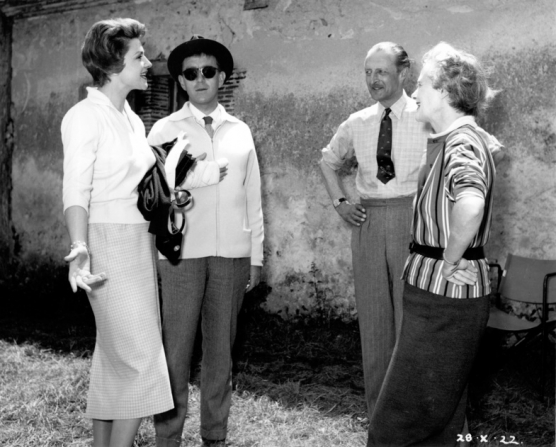 Nicole Maurey, Alec Guinness, Daphne du Maurier