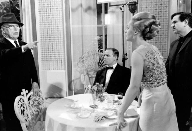 Charles Chaplin, Marlon Brando, Tippi Hedren, Jerome Epstein