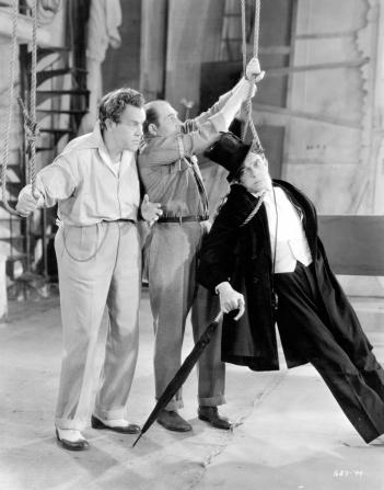 Sidney Toler, Edward Brophy, Buster Keaton