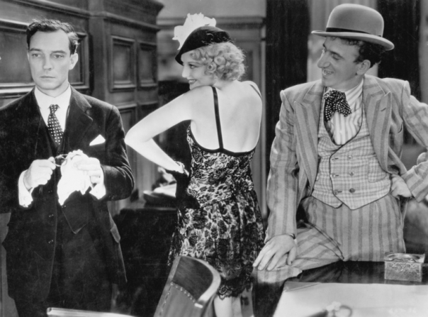 Buster Keaton, Jimmy Durante, Thelma Todd