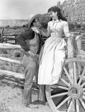 John Wayne, Gail Russell