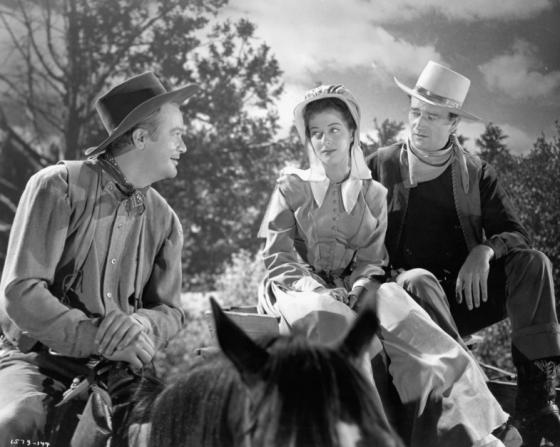 Lee Dixon, Gail Russell, John Wayne
