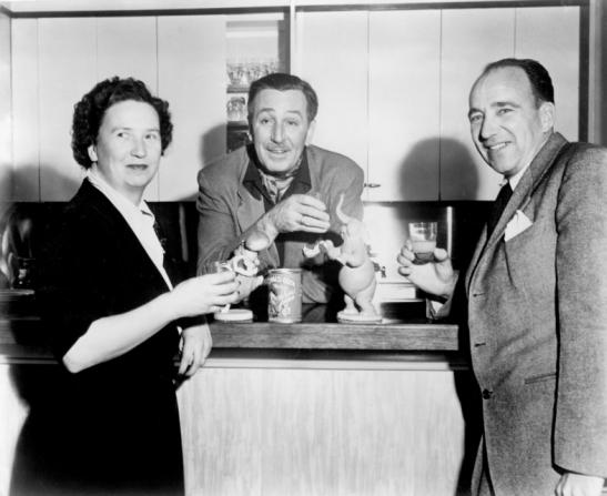 Walt Disney, Elma Milotte, Alfred G. Milotte