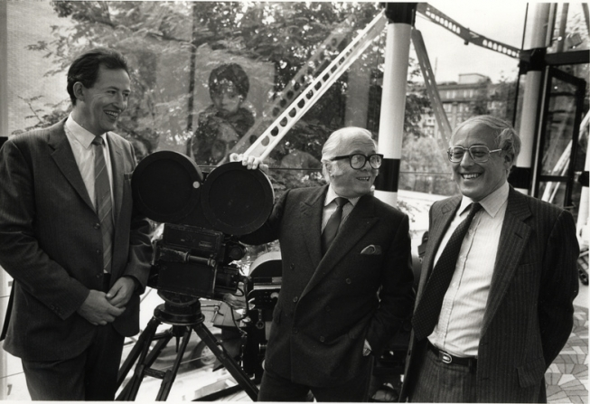 Museum of the Moving Image, Wilf Stevenson, Richard Attenborough, Anthony Smith