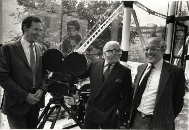 Museum of the Moving Image, Wilf Stevenson, Richard Attenborough, Anthony Smith