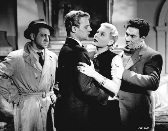 Sidney James, Tony Wright, Barbara Payton, John Slater