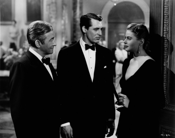 Claude Rains, Cary Grant, Ingrid Bergman