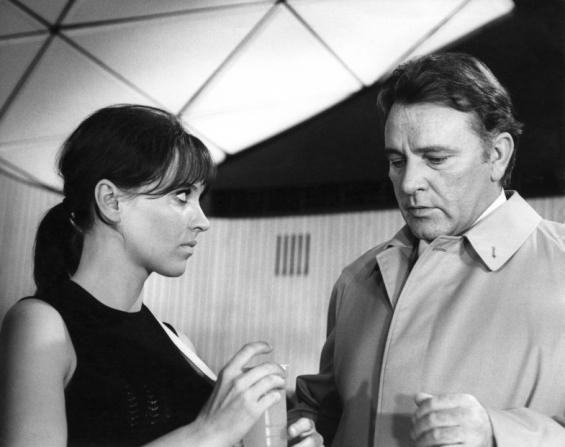 Anna Karina, Richard Burton
