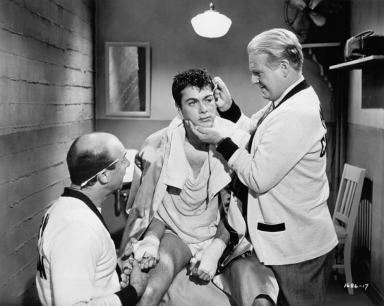 Harry Raven, Tony Curtis, Wallace Ford