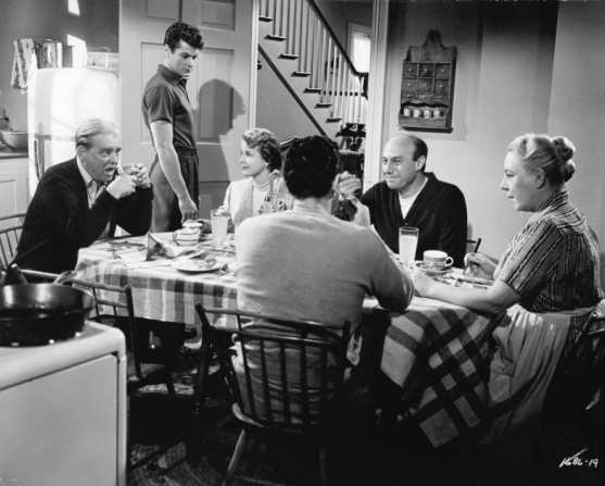 Wallace Ford, Tony Curtis, Mona Freeman, Harry Raven, Connie Gilchrist, Ted Stanhope