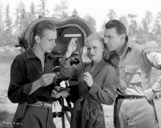Edward Cronjager, Ginger Rogers, George Brent