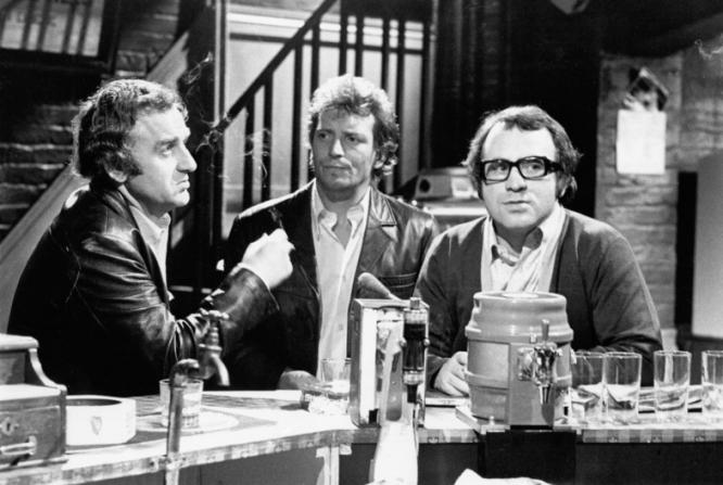 John Thaw, Johnny Briggs, Bob Hoskins