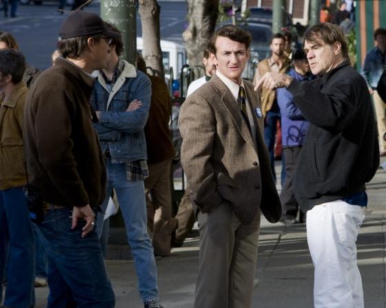 Sean Penn, Gus Van Sant