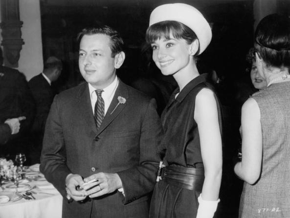 André Previn, Audrey Hepburn