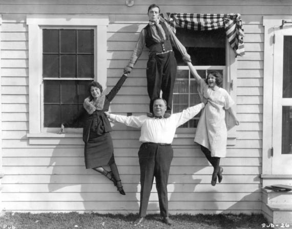 Roscoe Arbuckle, Viola Dana, Buster Keaton, Alice Lake