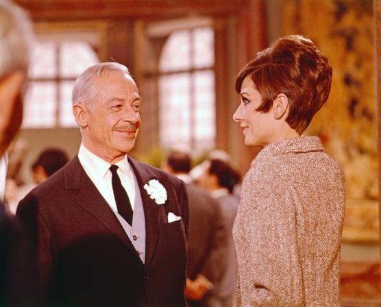 Fernand Gravey, Audrey Hepburn