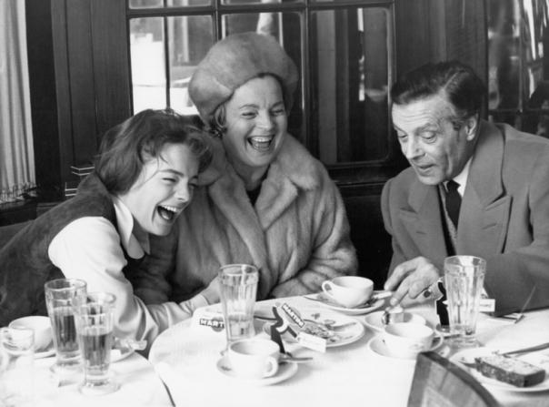 Romy Schneider, Magda Schneider, Wolf Albach-retty