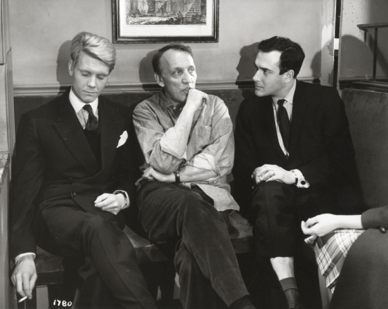 James Fox, Joseph Losey, Harold Pinter