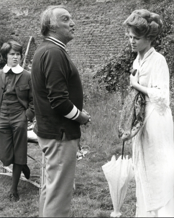 Dominic Guard, Joseph Losey, Julie Christie