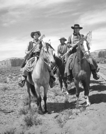 Jeffrey Hunter, John Wayne