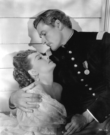 Olivia de Havilland, Errol Flynn
